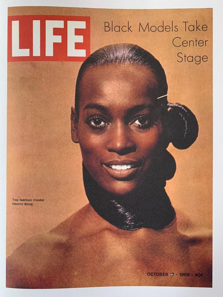 Naomi Sims, LIFE magazine, october 1969